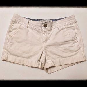White Aeropostale shorts